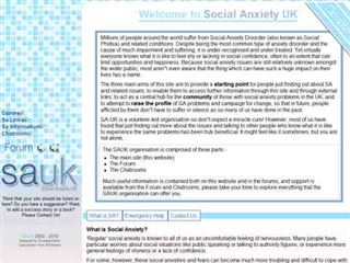 www.social-anxiety.org.uk
